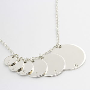 Disc Coin Kette Amelie