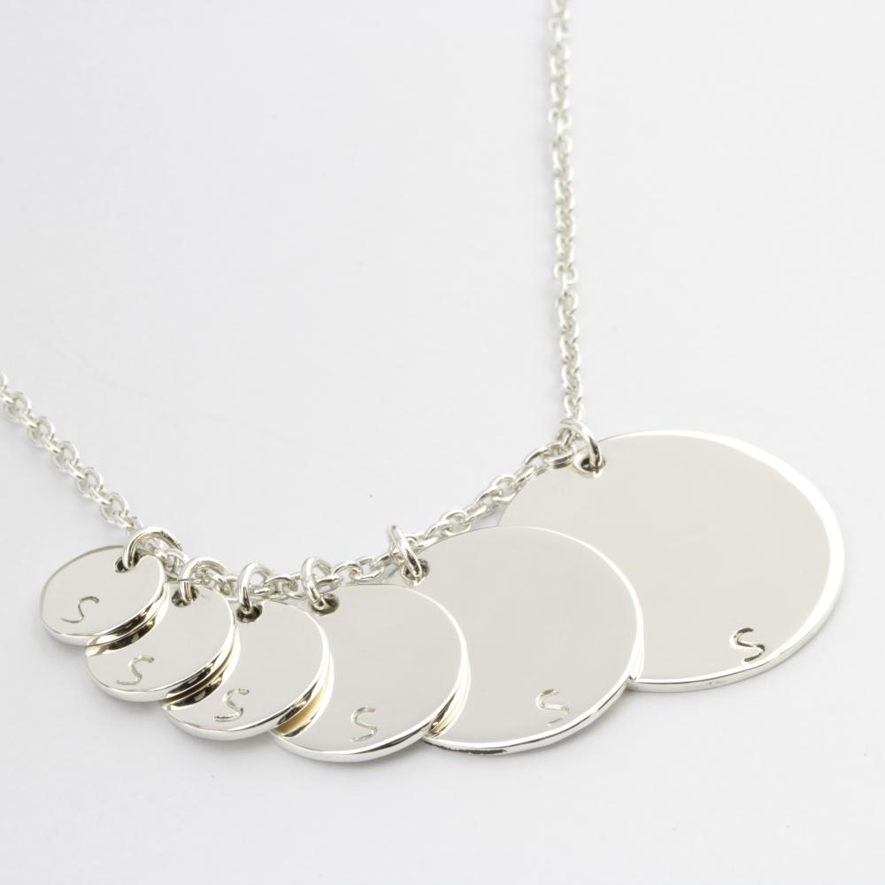 Disc Coin Kette Amelie