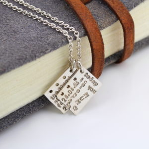 Tagebuch Charm Kette - Sammelkollektion