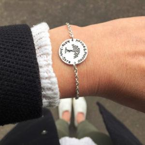 Familienbaum Armband 1