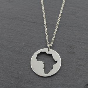 Afrika Münz Kette