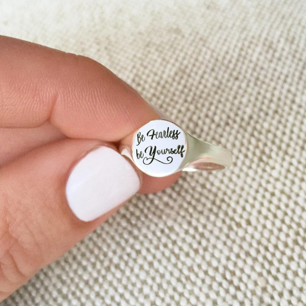 Personalisierter Siegel Ring für Sie