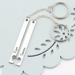 Herz Schlüsselanhänger Set/2