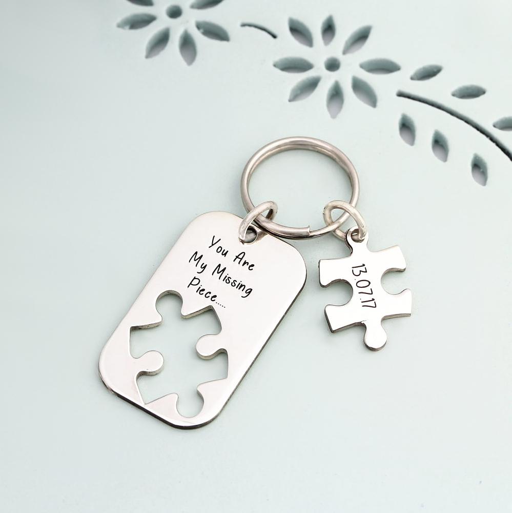 Puzzelstück Schlüsselanhänger-1