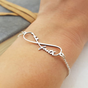 Infinity Namens-Armband