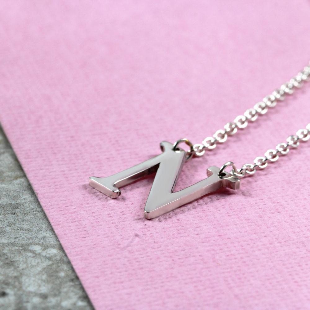 Personalisierte Halskette initial halskette Silvery Deutschland