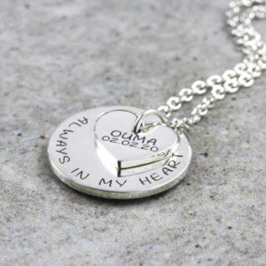 Personalisierte Halsketten Silvery Jewellery