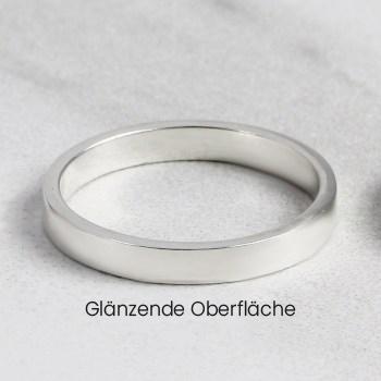 Glänzende Oberfläche personalisierter schmuck deutschland